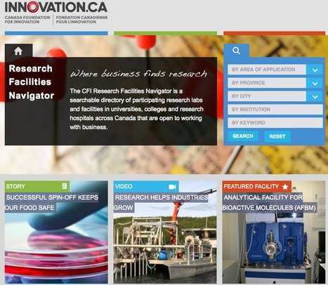 Canada Foundation for Innovation   Innovation Networks   Scoop.it