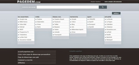 Comment créer une page d'accueil internet gratuite propre à vous avec Pagedem [gratuit] ~ Informatrucs | Au fil du Web | Scoop.it
