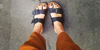Pour ou contre le retour des Birkenstock? - L'Express | l'usage des chaussures féminines dans différents pays | Scoop.it