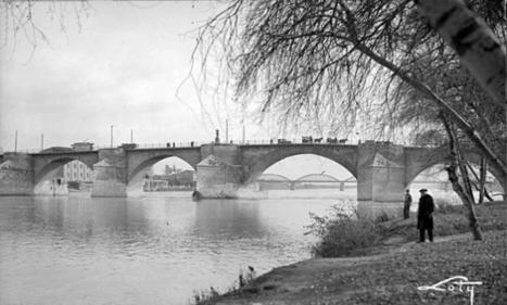 Zaragoza antigua. Tráfico en el Puente de Piedra.   Curious World   Scoop.it