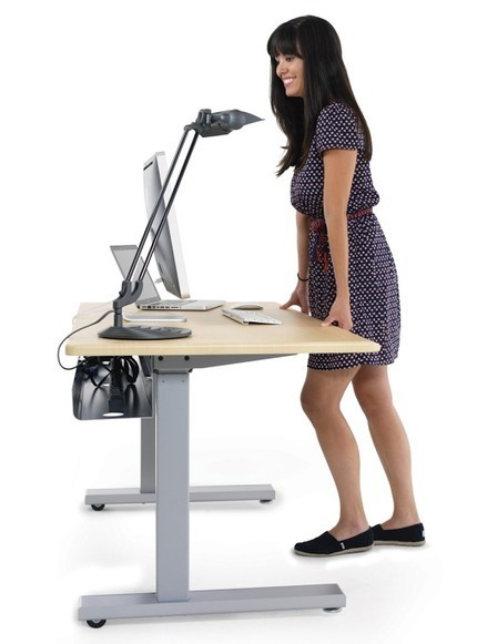 Staying Organized at a Sit/Stand | Office furniture | Scoop.it