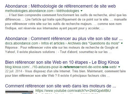 Google affiche des résultats de recherche avec une description de 3 à 4 lignes | Veille : Référencement Naturel SEO | Scoop.it