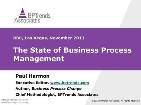 The State of Business Process Management, Business | BPM | Scoop.it