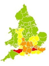 Environment Agency - Three Day Flood Risk Forecast | Occupational risk prevention and something more. | Scoop.it