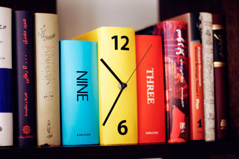Book Clock | Colossal | Weird and wonderful | Scoop.it