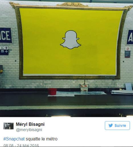 Snapchat débarque en France | Actualité Social Media : blogs & réseaux sociaux | Scoop.it