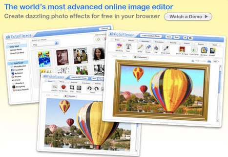 FotoFlexer - Create Dazzling Effects for Free | Web 2.0 for Education | Scoop.it