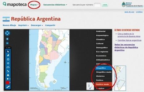 Mapas para llevar a la escuela | Recursos educativos | Scoop.it