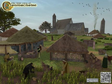The Lost City of Clonmacnoise | Irish Archaeology | Heritage Apps | Scoop.it
