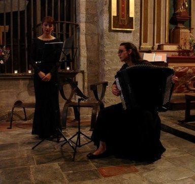Sarrancolin : le concert du Duo in Sense a ravi les mélomanes | Vallée d'Aure - Pyrénées | Scoop.it