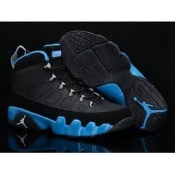 Air Jordan 9 Retro Black Royal Blue Shoes For Sale | Nike Lebron 10 | Scoop.it