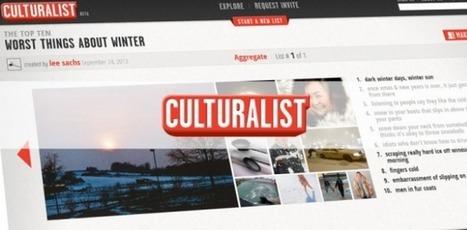 Culturalist - Un réseau social   TeraPedia - Top Sites et Des Meilleurs Outils   TeraPedia Co   Scoop.it