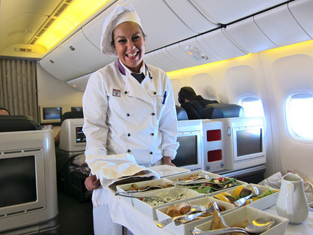 Airplane Food of the Future: Food + Cooking : gourmet.com | The *Official AndreasCY* Daily Magazine | Scoop.it