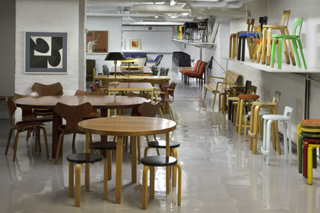 Artek Launches 2nd Cycle Vintage Furniture Store • Highsnobiety | Decors | Scoop.it