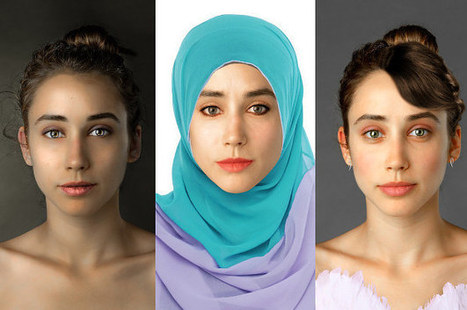 This Woman Had Her Face Photoshopped In Over 25 Countries To Examine Global Beauty Standards | Pre-AP Geography | Scoop.it