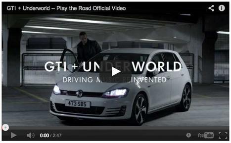 Volkswagen GTI: Play the Road. Create Music.   International Auto Market Insights   Scoop.it