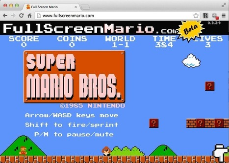 Nintendo says this amazing Super Mario site is illegal. Here's why it shouldn ... - Washington Post (blog) | Game Ponder | Scoop.it