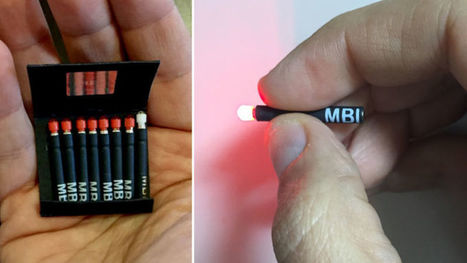 A Matchbook Full of Tiny Disposable Flashlights Is a Brilliant Emergency Tool | Tools You Can Use | Scoop.it