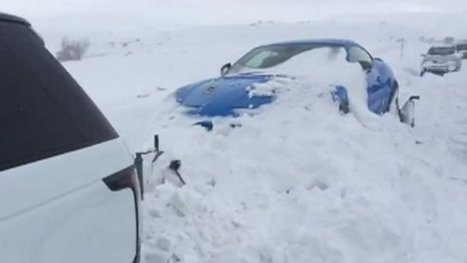 Snow traps motorists in Spain | Society & Culture | Scoop.it