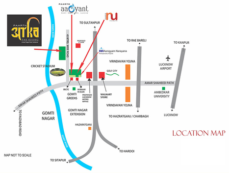 Paarth Arka at Gomti Nagar Shaheed Path Lucknow   Property Lovers India   Scoop.it