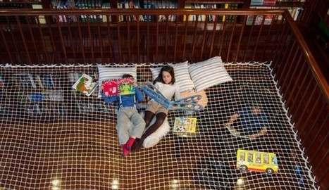 reading net turns libraries into hanging learning labs | lemayOnline | Learning Commons Design and Implementation | Scoop.it