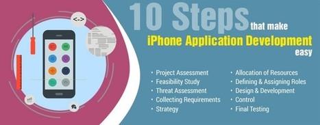 10 Steps that make iPhone Application Development Easy | Mobile Application Development Services | Scoop.it