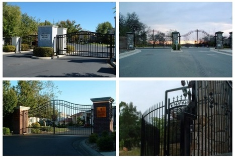 Electronic Entry System and Repairs   Find unique Design on Wrought Iron Gates in Roseville, Sacramento   Scoop.it