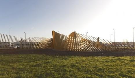 installation art - Blaze Sculpture by Ian McChesney | VIM | Scoop.it
