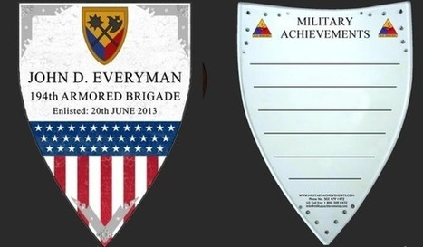 Military Shields - Custom Made by Military Shields Online | Military Shopping | Scoop.it