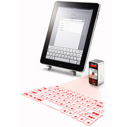 Laser Virtual Keyboard for iPad | Teaching in the XXI century | Scoop.it