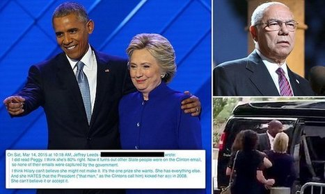 Hillary Clinton 'HATES' President Obama according to leaked emails | Restore America | Scoop.it