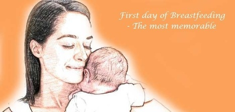 Breastfeeding Newborn on First Day   GoMama 24/7   Blossoms'   Scoop.it
