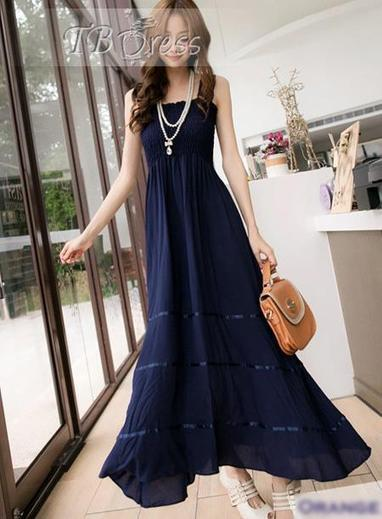 $ 11.99 Vogue New Arrival Maxi Lace Korean Style Dress | fashion | Scoop.it