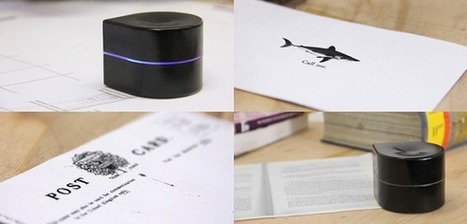 Pocket Printer, l'imprimante que vous pouvez glisser dans votre poche | FabLab - DIY - 3D printing- Maker | Scoop.it