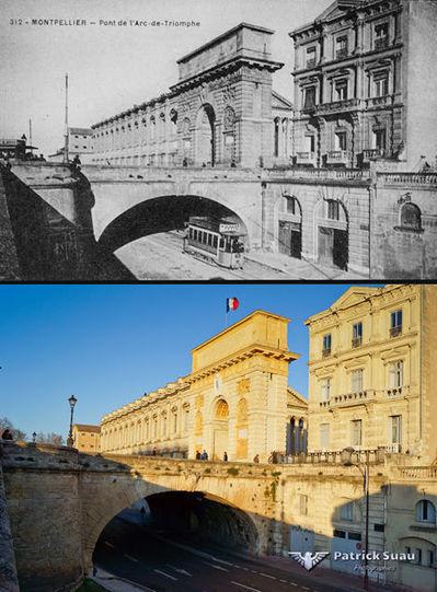Une ville...avant et après : Montpellier - Photimages...d'hier et d'aujourd'hui | Nos Racines | Scoop.it