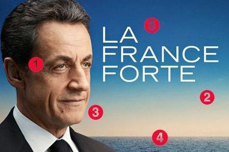 Que se cache-t-il derrière l'affiche de campagne de Nicolas Sarkozy ? | Education aux médias | Scoop.it