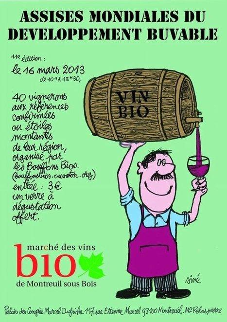 Vous avez dit Vins Bio ? Le regard des vignerons. 16 Mars 2013 - Salon Vins Bio MONTREUIL | Parisian'East, la communauté urbaine des amoureux de l'Est Parisien. | Scoop.it