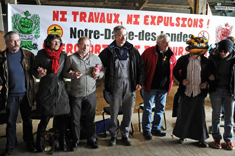 Notre-Dame-des-Landes : après les violences, les opposants réaffirment leur unité - Politis | Mouvement. | Scoop.it