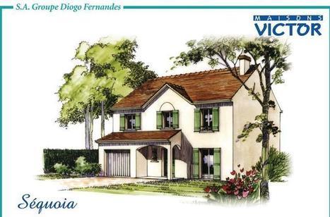 Maison 5 pièces Sequoia à Saint Arnoult en Yvelines... | Maison individuelle | Scoop.it
