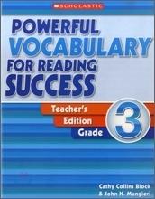 [단어] Powerful Vocabulary For Reading Success Grade 3   @wonil07lee Parenting   Scoop.it