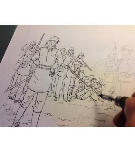 """Les premières images de l'album """"Le Soldat"""", par Efa et Jouvray - Le Lombard   Romans régionaux BD Polars Histoire   Scoop.it"""