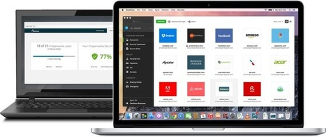 Dashlane launches a password management tool for theenterprise | Mobile, Web & IoT | Scoop.it