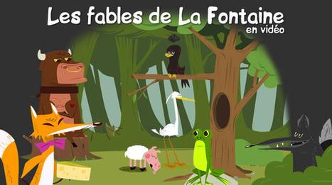 10 FABLES DE LA FONTAINE en vidéo | Time to Learn | Scoop.it