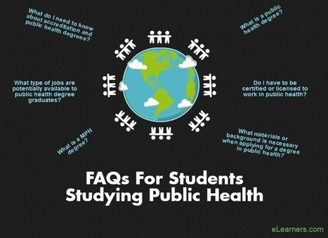 FAQS for Students Studying Public Health | Career Fields | Scoop.it