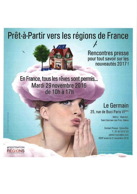 Le CDT aux Rencontres presse touristique et Régions | L'info tourisme en Aveyron | Scoop.it