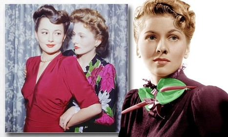 Has there ever been a sibling rivalry more venomous than this? Now Joan Fontaine is dead at 96, her sister Olivia De Havilland will be livid she's stolen the headlines again | British Genealogy | Scoop.it