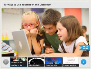 YouTube Launches Site Specifically for Teachers | MindShift | EdTech in PYP | Scoop.it