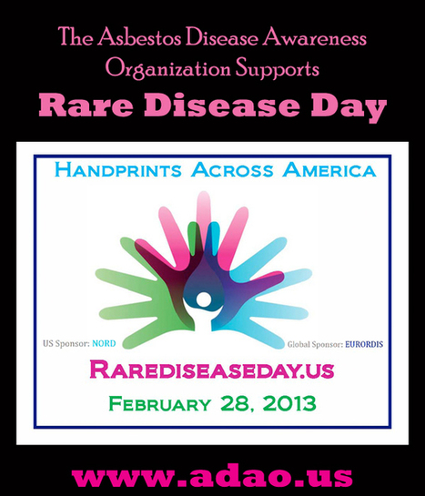 ADAO Joins Millions around the World to Observe Rare Disease Day on February 28, 2013 | Asbestos and Mesothelioma World News | Scoop.it