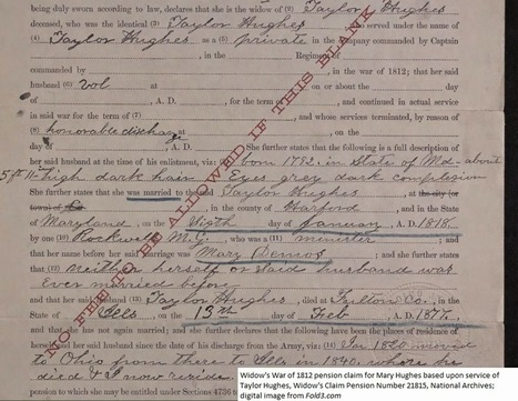 Documenting Migrations Via Pension Applications | Genealogy | Scoop.it