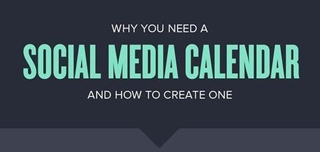 How to Create an Effective Social Media Editorial Calendar   Social Media   Scoop.it